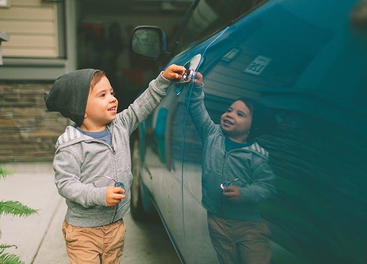 parenting fear kid car