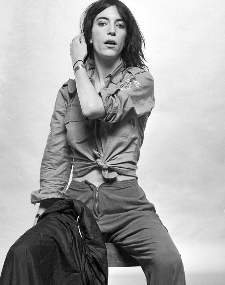 patti smith nyc style icon LIST