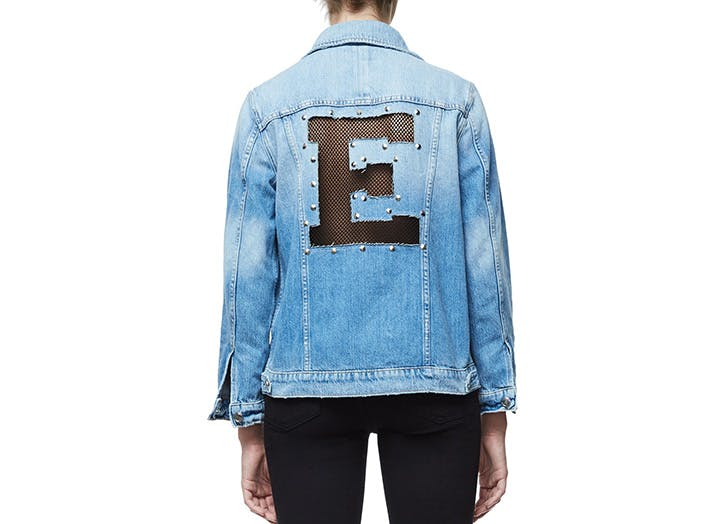 personalized gifts denim jacket