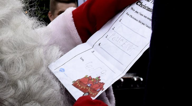 Prince George's Handwritten Christmas List for Santa Has Only One Thing on It