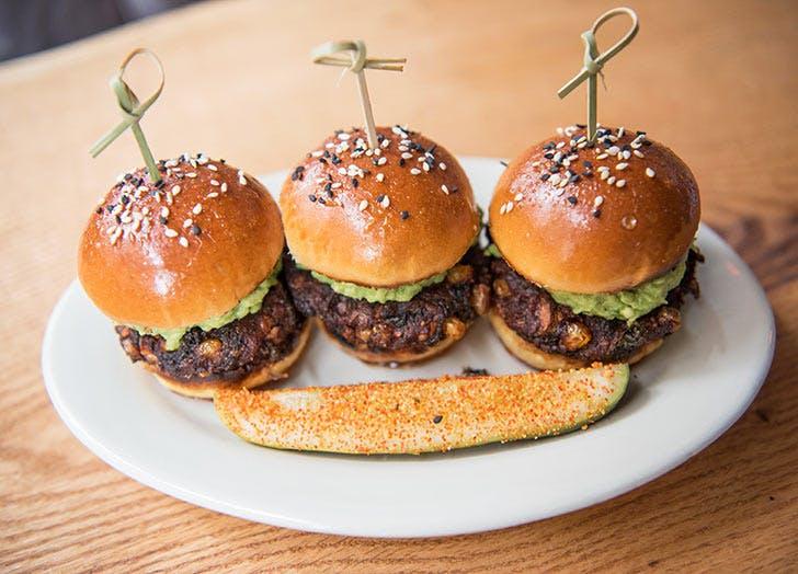 randolph beer veggie burger NY