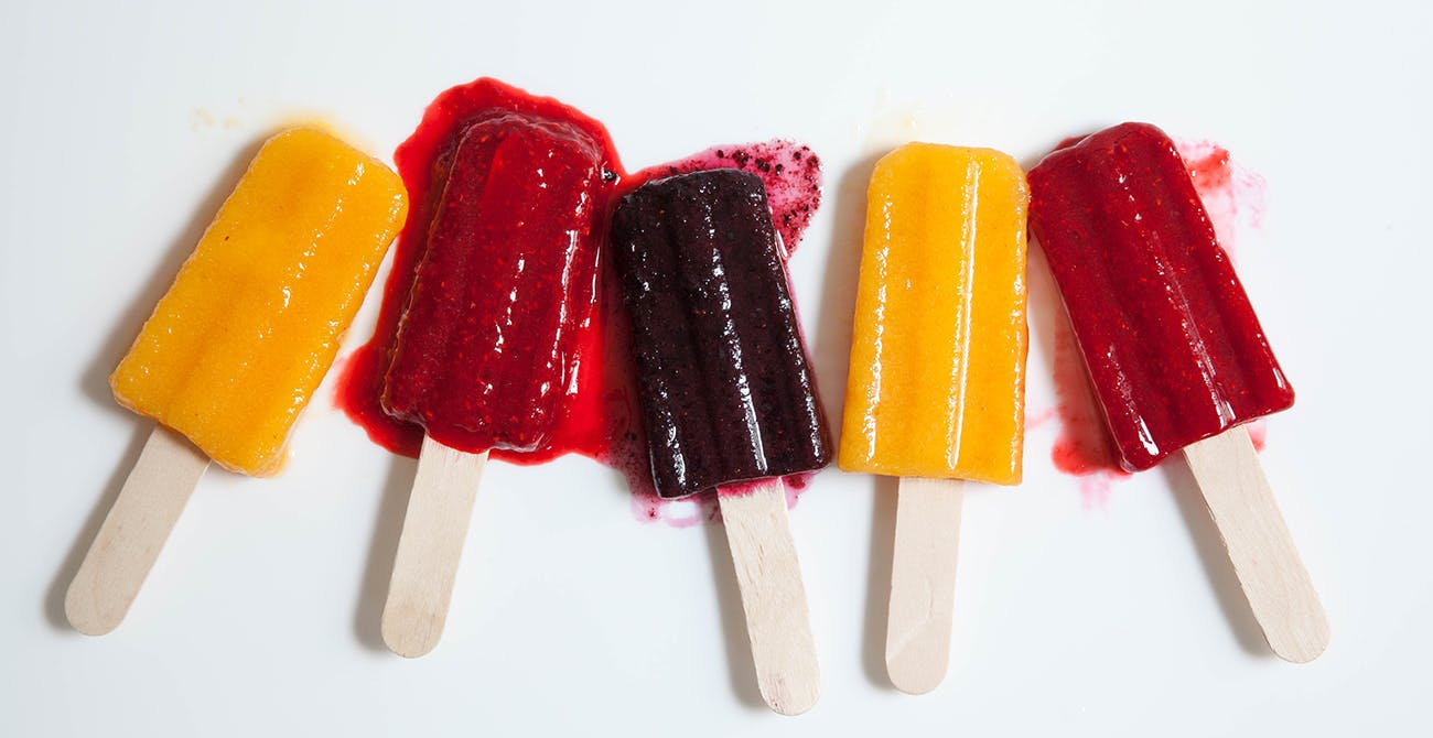 real fruit pops