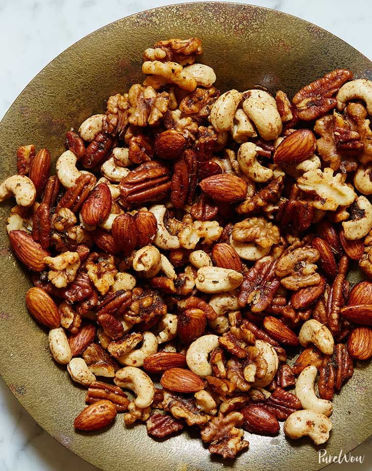 roasted mixed nuts holiday appetizer recipe