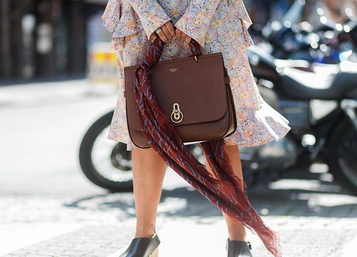 scarf handle bag