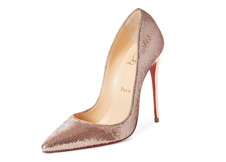 sequined looks louboutin