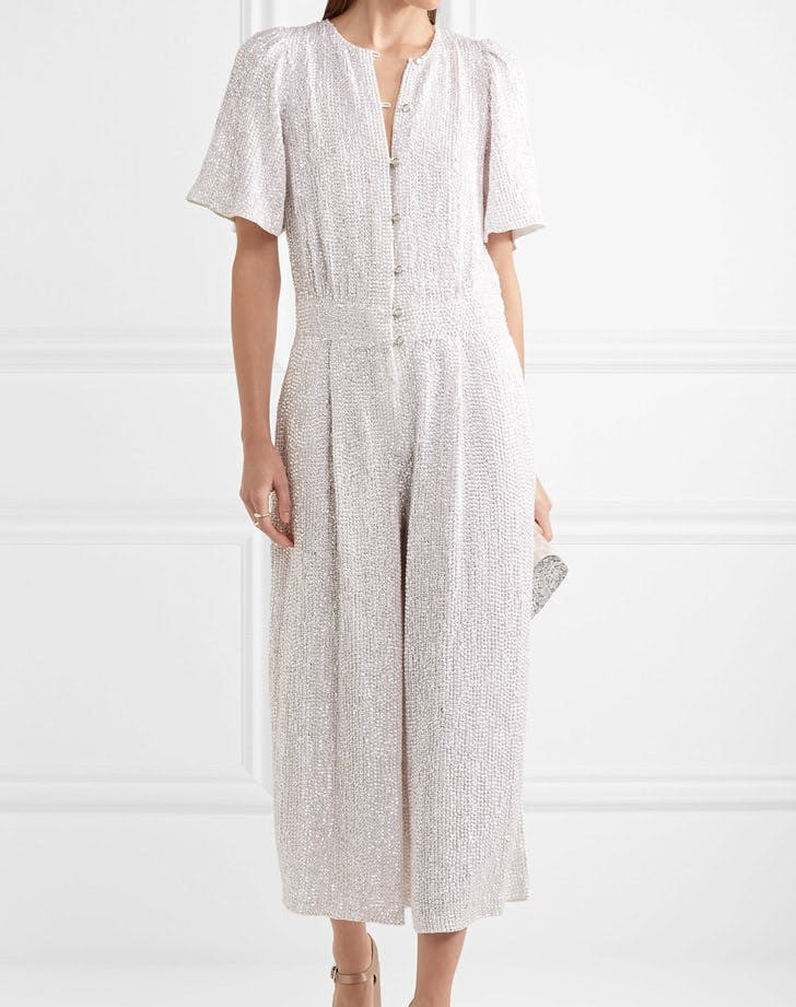 sequined bridal jumpsuit LIST