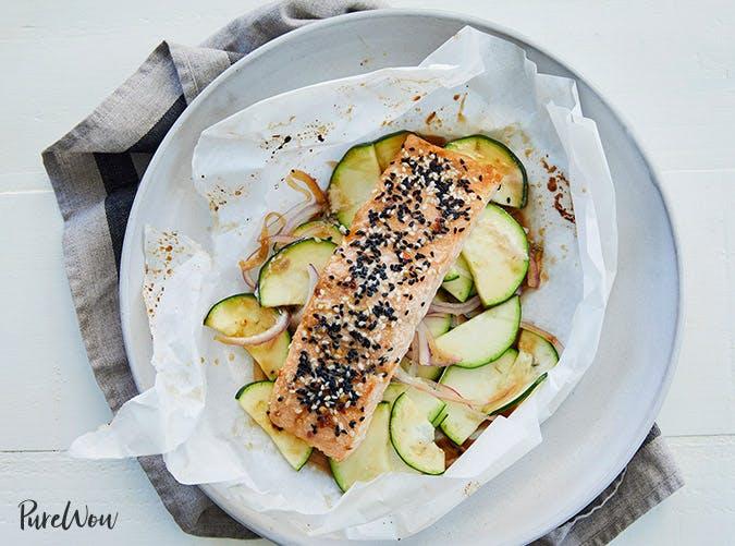 sesame ginger baked salmon recipe 501