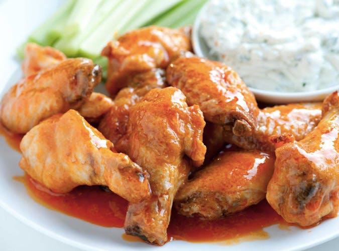 sheet pan baked chicken hot wings recipe 501