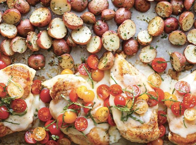 sheet pan bruschetta chicken recipe 501