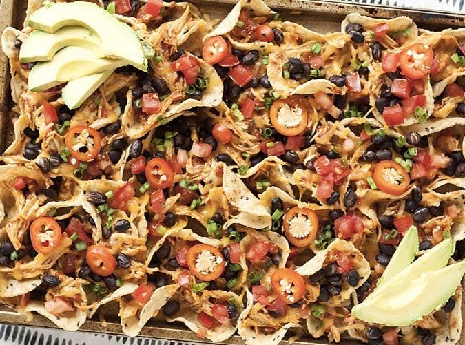 sheet pan chicken nachos recipe 501
