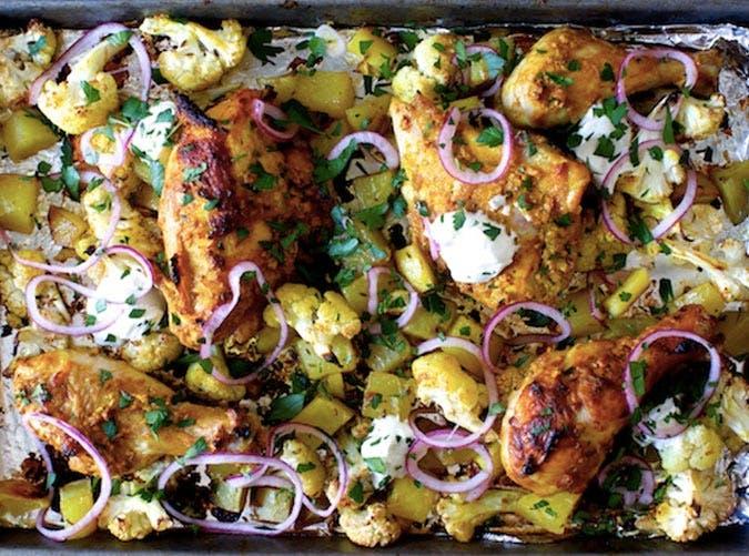 sheet pan chicken tikka recipe 501