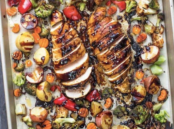 sheet pan hoisin chicken recipe 501