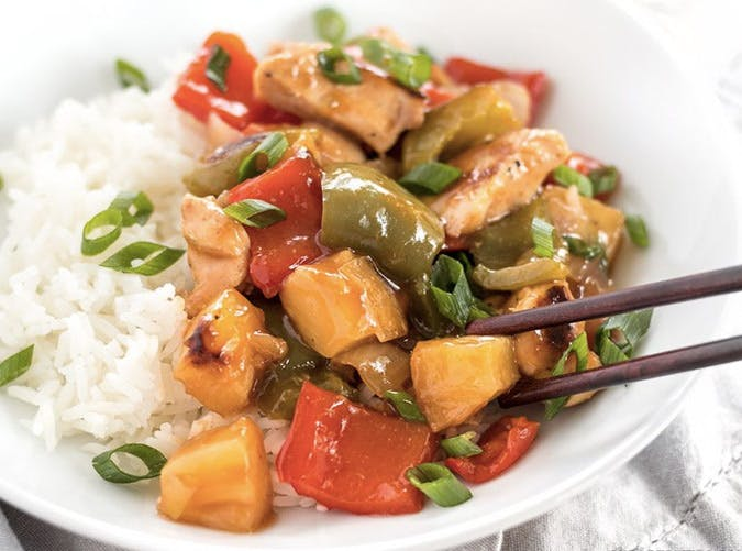 sheet pan sweet and sour chicken recipe 501