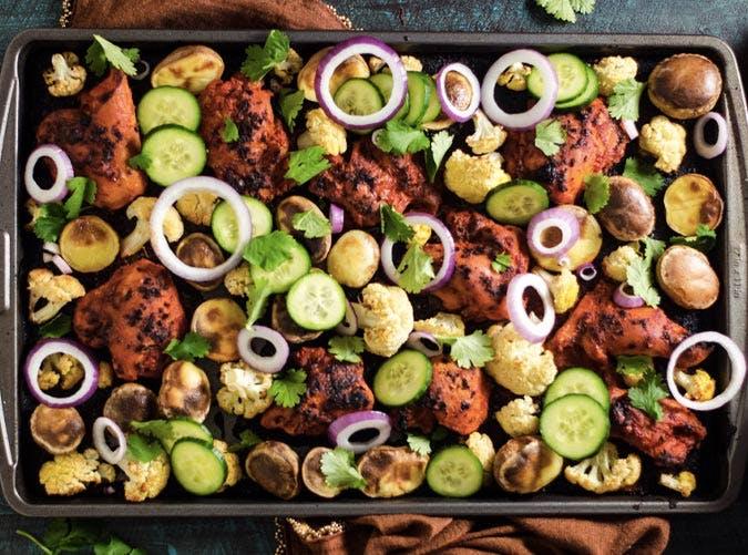 sheet pan tandoori chicken recipe 501