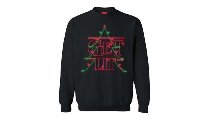 shinesty stranger things ugly christmas sweater