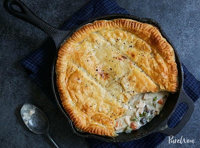 skillet chicken pot pie recipe 501