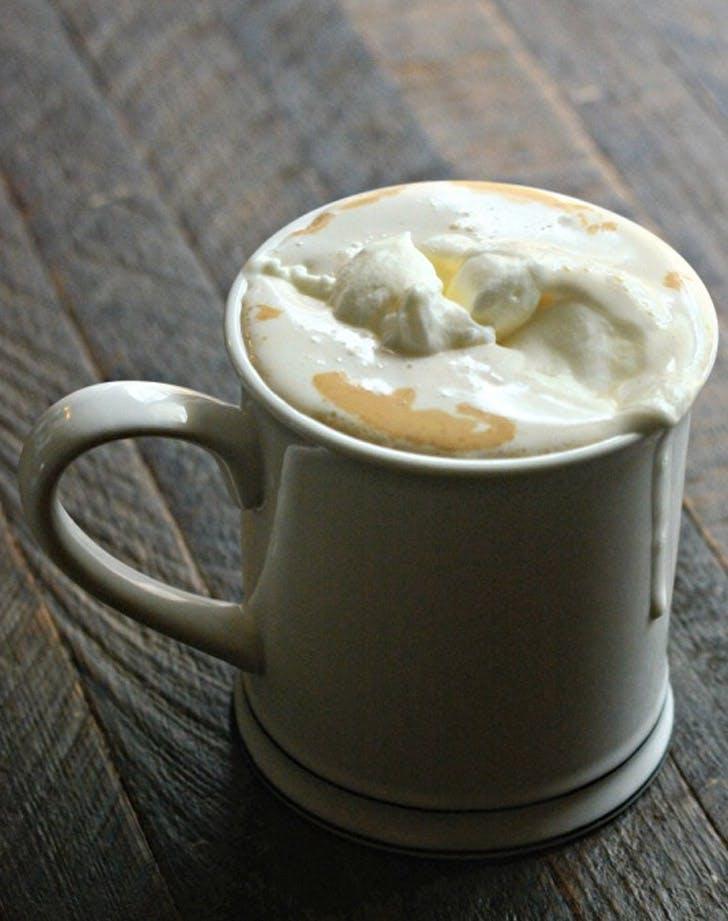 slow cooker vanilla latte
