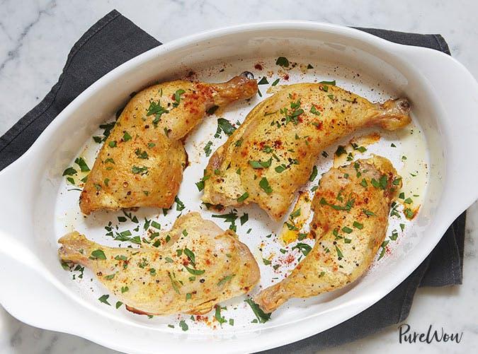 spicy yogurt marinated chicken legs 501