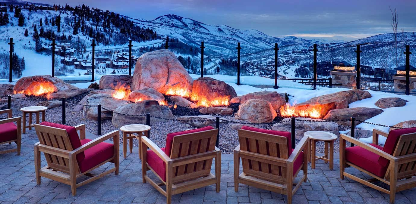 st regis deer valley park city fireplace WIDE