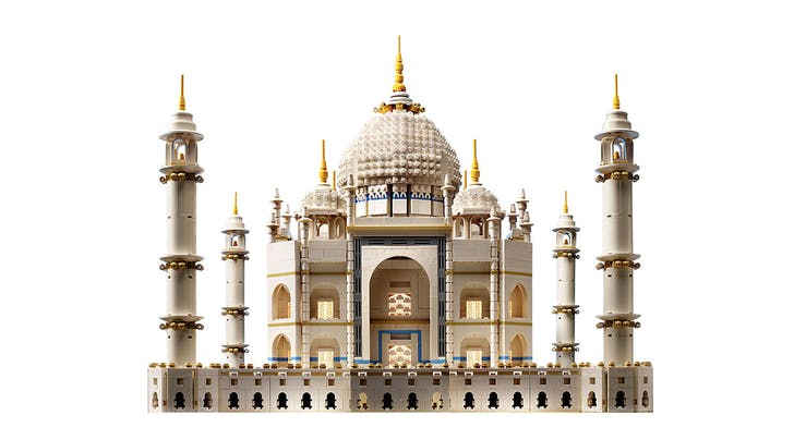 After 7 Years, Lego's 5,923-Piece Taj Mahal Is Back on the Market—Here's How to Score One