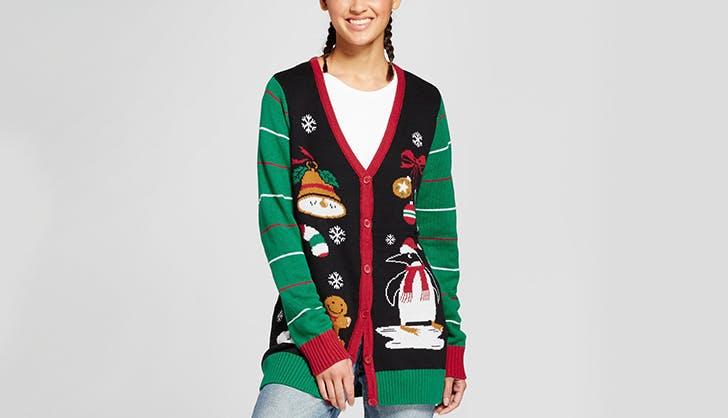 target ugly christmas sweater cardigan