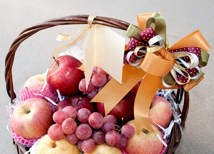 teacher gift fruitbasket
