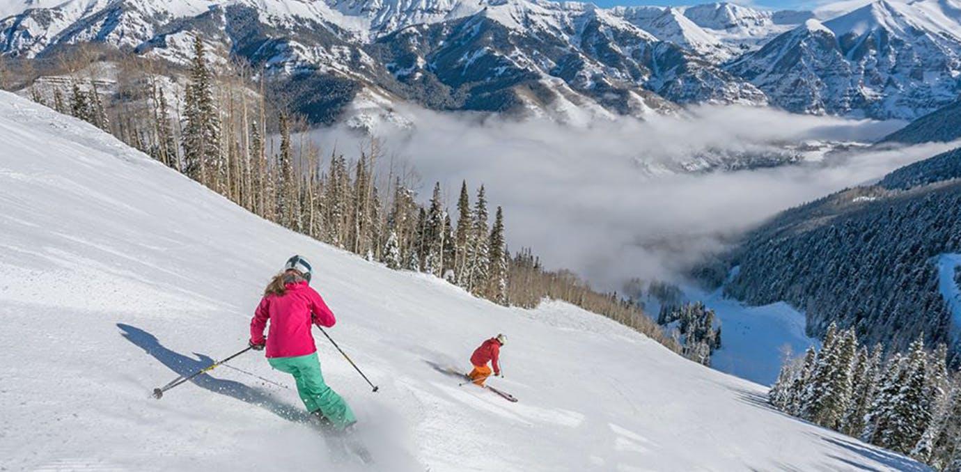 telluride colorado best ski resorts for families