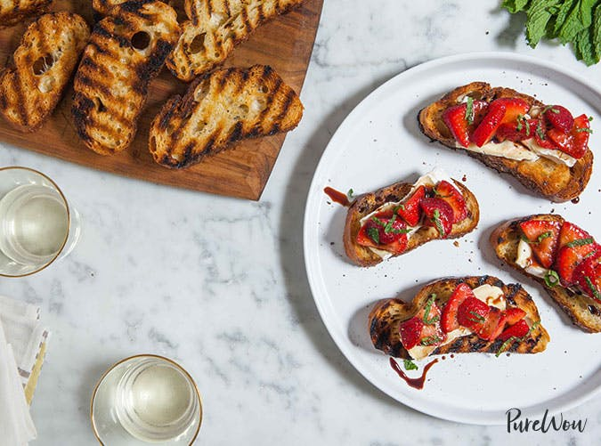 thanksgiving potluck grilled cheese crostini recipe 501