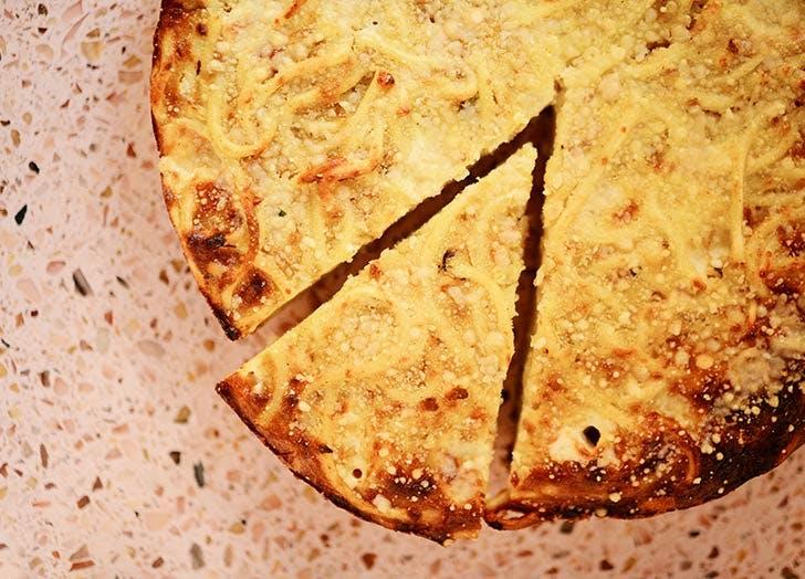the sosta spaghetti pie thanksgiving NY