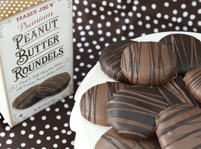 trader joes peanut butter roundels 501