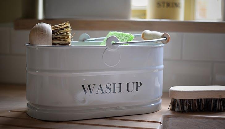 wash up bin