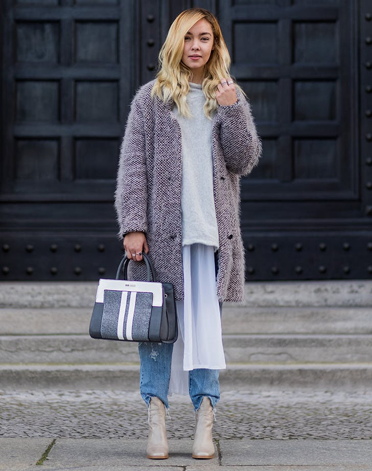 wear oversize everything december outfit ideas