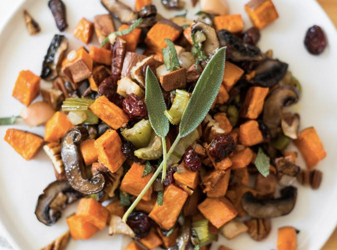 whole30 sheet pan sweet potato breakfast hash 501