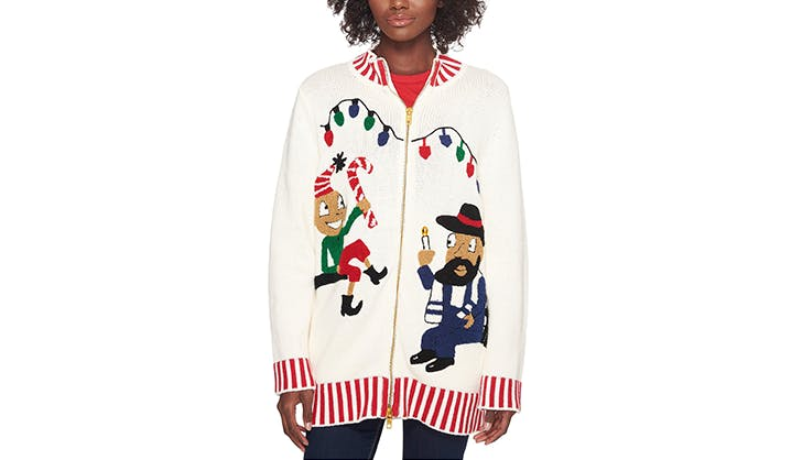 whoopi goldberg ugly christmas sweater