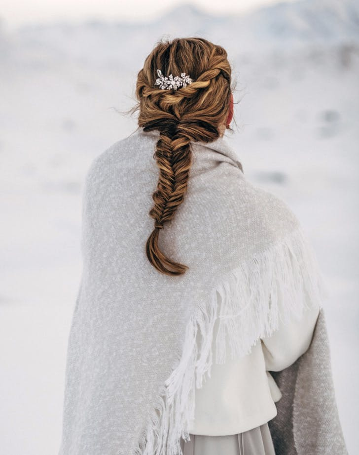 winter braids clip