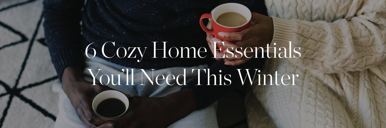 winter home essentials desktop