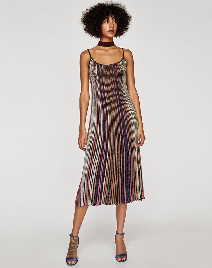 zara striped