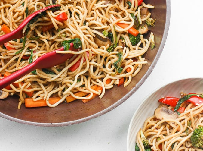 15 Minute Lo Mein lazy dinner recipes