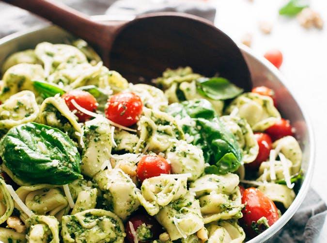 15 min spinach pesto