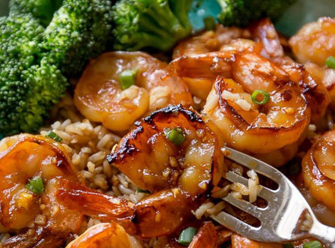 20 Minute Honey Garlic Shrimp lazy dinner recipes