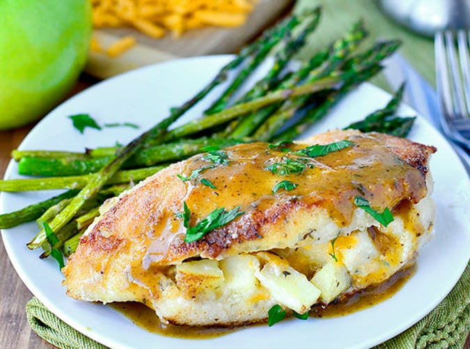 Apple Stuffed Chicken Breasts recipe