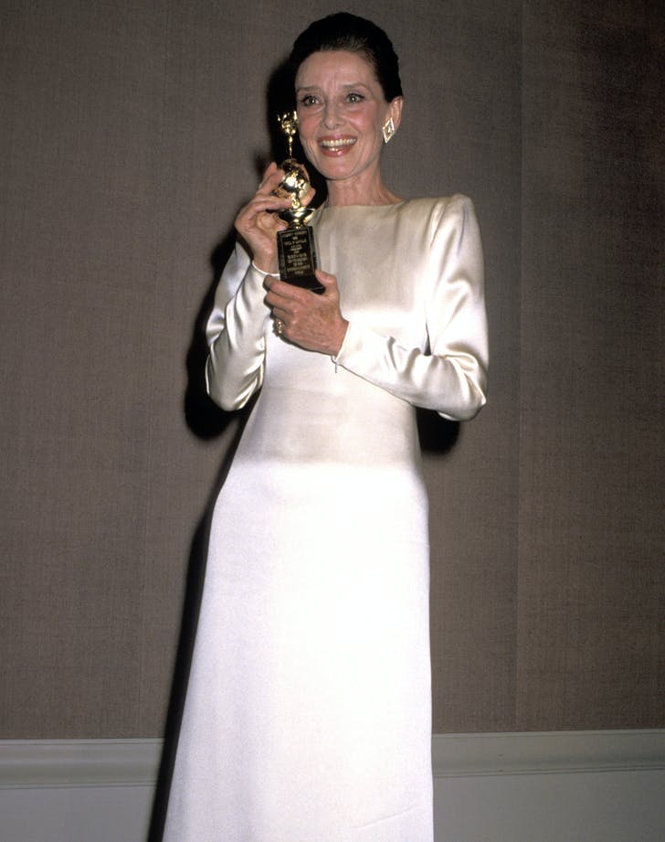 Audrey Hepburn Golden Globes best dressed2