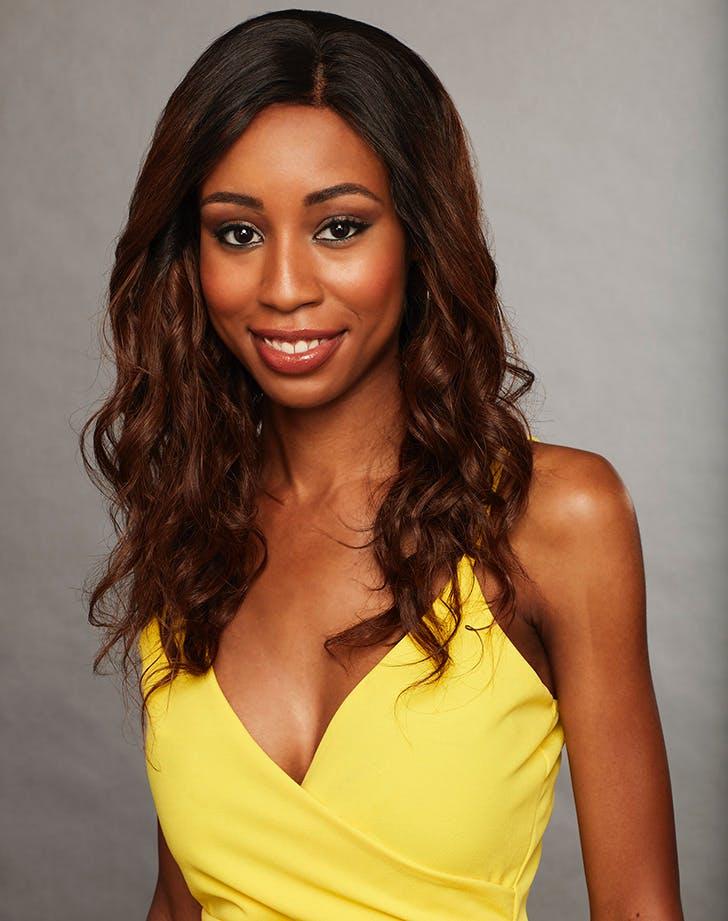 Bachelor contestants Nysha