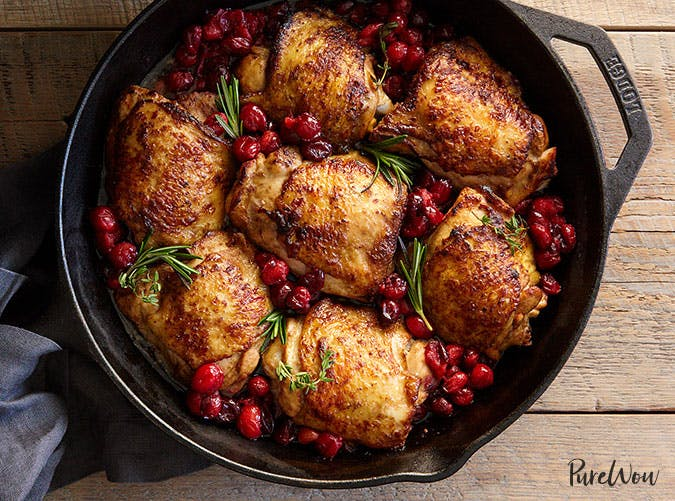 Balsamic Cranberry Roast Chicken best recipe of 2017