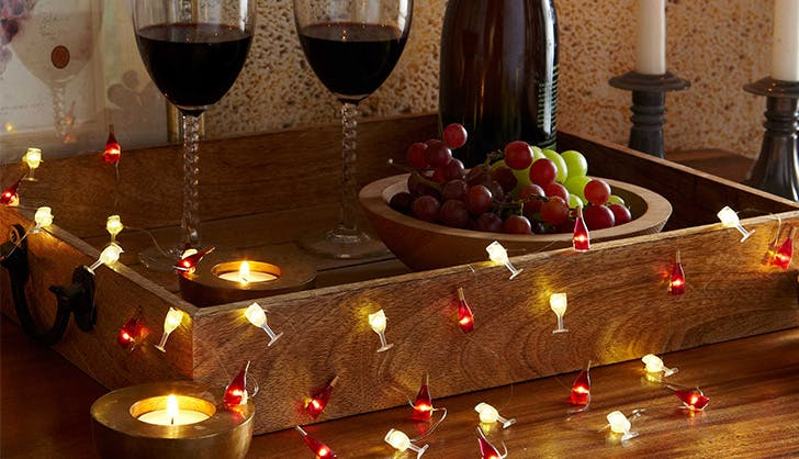 Bed Bath and Beyond Wine String Lights