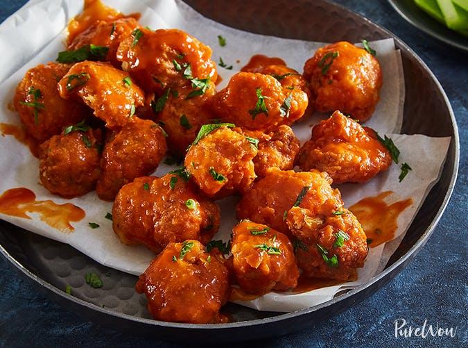 Buffalo Cauliflower Nuggets vegetable recipes for kids