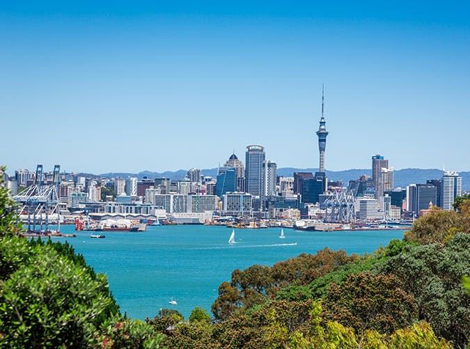 City of Auckland in New Zealand