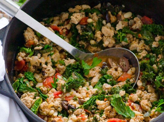 Clean Eating Ground Turkey Stew