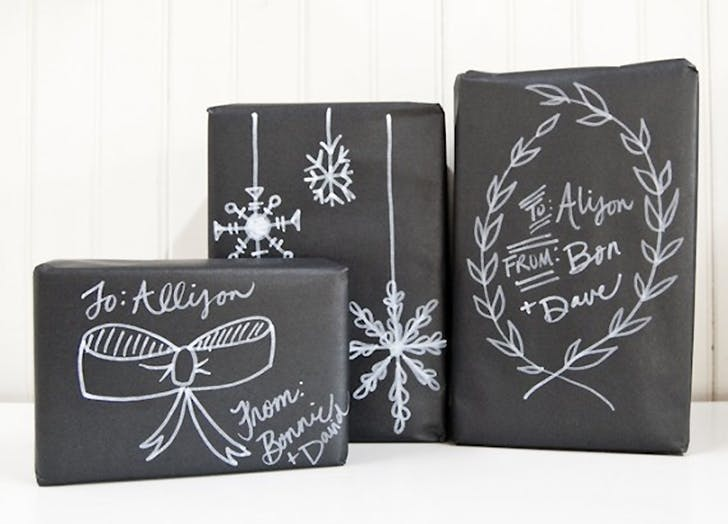 DIY kid wrapping paper ideas 1