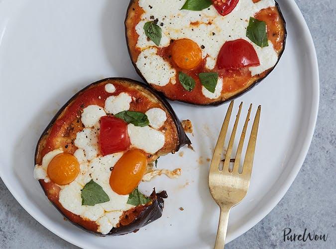 Eggplant Pizza vegetable recipes for kids